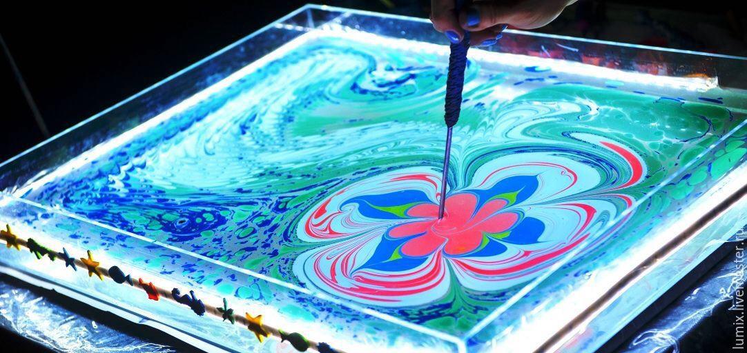 Эбру — рисунок на воде